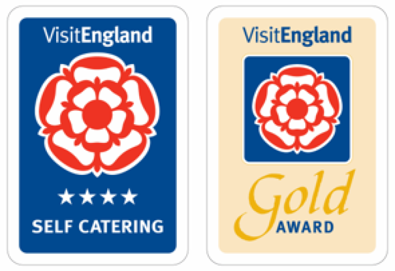 All cottages have Four Star Gold Awards